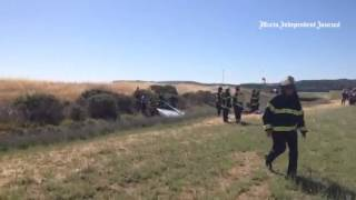 Pilot trapped in airplane at Gnoss Field  Novato