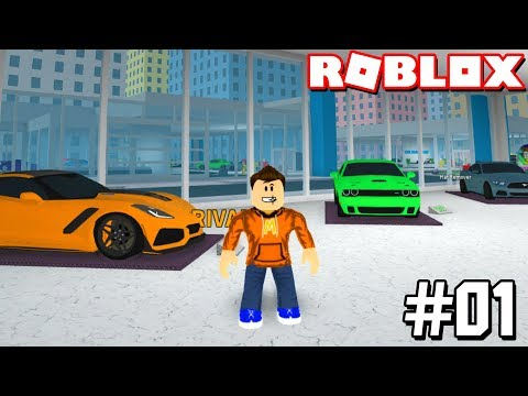 THIS CAR DEALERSHIP GAME IS *AWESOME!* #1 (Roblox Car Dealership Tycoon)