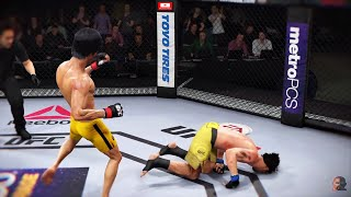 BRUCE LEE vs MANNY PACQUIAO 2 2K19 | EA SPORTS UFC 3