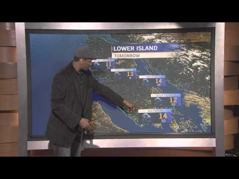 Metta World Peace - the Weathercaster on CTV BC