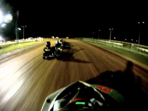 Selinsgrove raceway park 10/07/2011. Feature race 350 lb. flathead class.