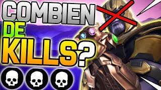 COMBIEN DE FOIS VAIS-JE TUER THANOS ? | Fortnite Battle Royale