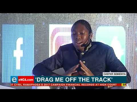 Caster Semenya speaks at Top Women conference