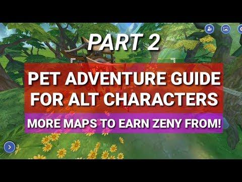 PART 2: Best Pet Adventure Maps for Alts Zeny Farming - WE WANT MORE!