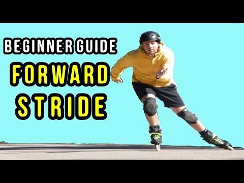 HOW TO SKATE FORWARD - Beginner