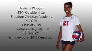 Freedom Christian Academy Volleyball 2017-18 I
