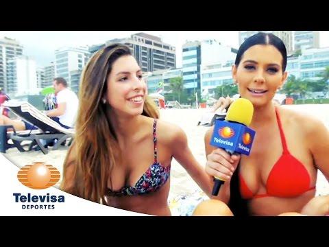 Los Bikinis de Brasil I Copa Mundial I Televisa Deportes