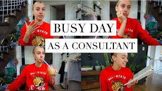 A VERY BUSY & PRODUCTIVE DAY! | Work Day in my Life as a Tech Consultant {VLOG}