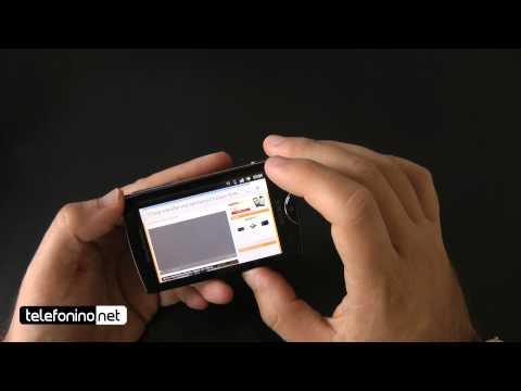 Sony Ericsson Xperia Mini videoreview da Telefonino.net
