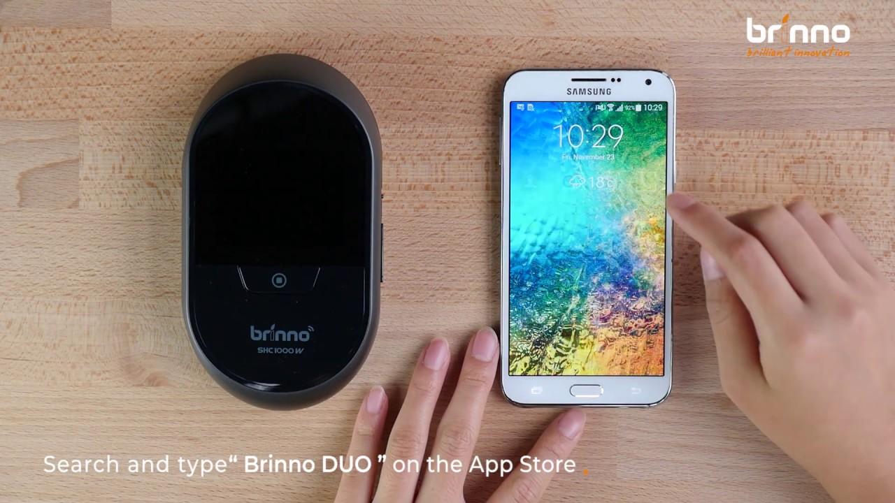 Brinno Duo - Smart Peephole DoorCam | SHC1000