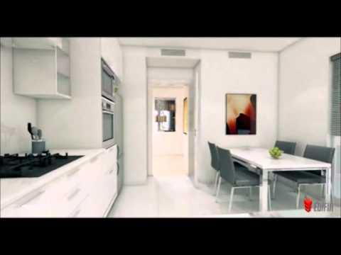 appartement s 2 r sidence coralia au lac de tunis youtube. Black Bedroom Furniture Sets. Home Design Ideas