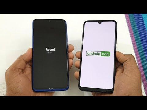 Redmi Note 8 vs Mi A3 SpeedTest & Camera Comparison