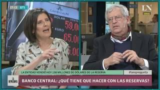 ¿Qué tiene que hacer el Banco Central con las reservas?
