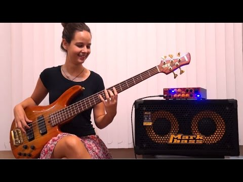 Sir Duke (Stevie Wonder) Bass Guitar Cover by Alana Alberg