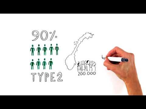 Hva er diabetes type 2?