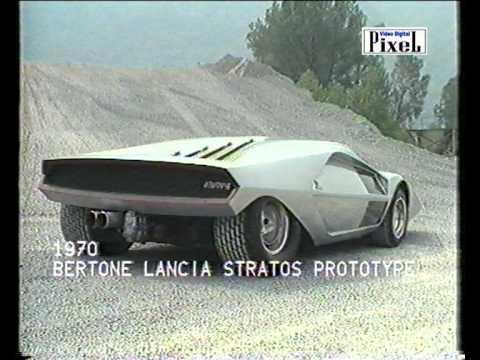 Lancia Stratos Zero By Nuccio Bertone Original Music By Spino