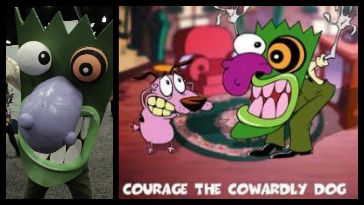 Eustace Bagge Costume at WonderCon 2016 - Courage the ...
