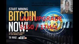 Genesis Mining Update and Upgrade hashpower 1 TH/S LIVE Worth $150
