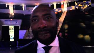 JOHNNY 'BAD MAN' NELSON REACTS TO JAMES DeGALE MAKING HISTORY & BECOMING IBF WORLD CHAMPION