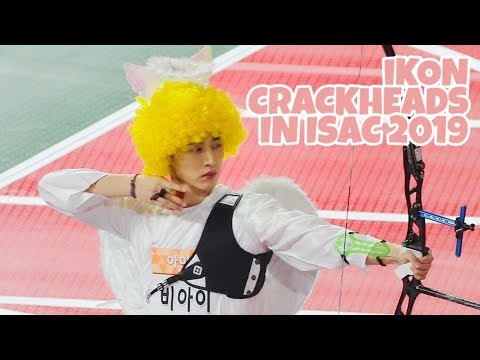 iKON CRACKHEADS COMPILATION IN ISAC 2019