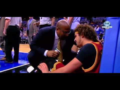 Andrew Nicholson ejected for shoving Anderson Varejao