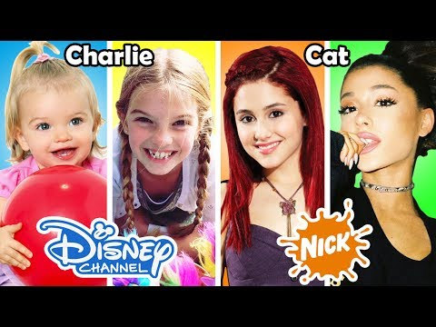Disney Channel & Nickelodeon Famous Stars Before and After 2017 🌟 Then and Now