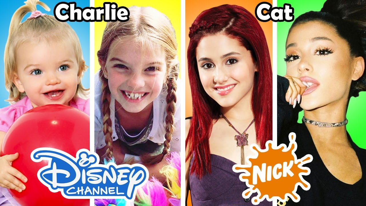 disney channel nickelodeon famous stars before and after 2017