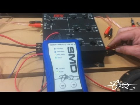 how to 2 amplifiers 1 active crossover tuned with smd dd 1 cc 1 rh youtube com car audio crossover wiring diagram Car Audio Speaker Wiring Diagram