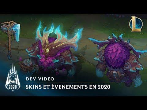 Skins et événements en 2020   Dev Video - League of Legends