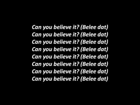 The Game ft Lil Wayne & Birdman Can You Believe It Official Lyrics