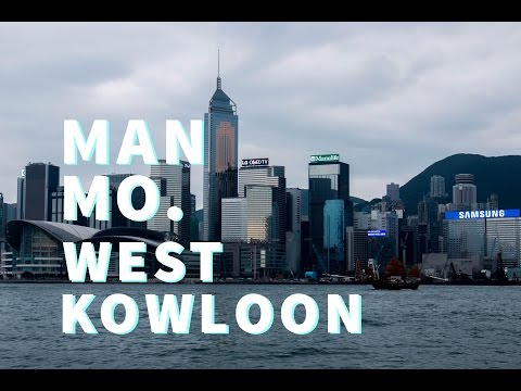 ManMo Temple & West Kowloon Cultural District (Vlog 1)