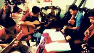 Thành phố mưa bay-Bằng Giang-Nhóm GCB guitar cover