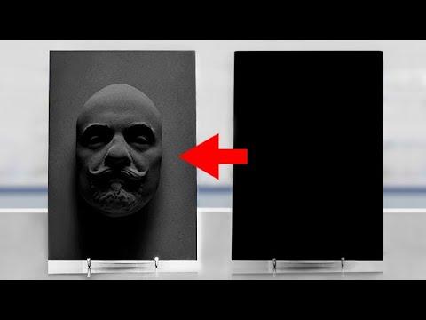 VANTABLACK - The Darkest Material on Earth