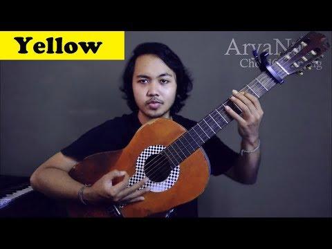Chord Gampang (Yellow - Coldplay) By Arya Nara (Tutorial)