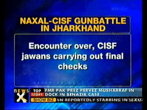 Six Naxals killed in encounter with CISF jawans in Jharkhand - NewsX