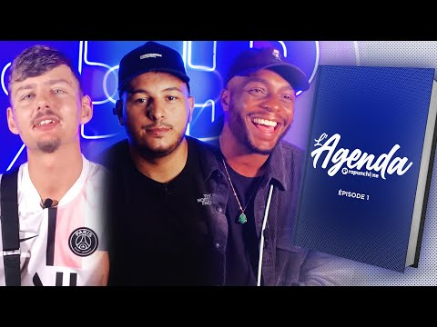 Youtube: L'Agenda #1 –  Hornet la Frappe, Drake, Kanye West, Joss, Alonzo, Rim'K, Leto, Léonis, Morad …