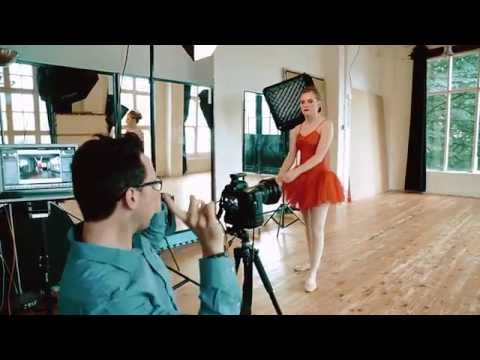 BALLET PHOTO SHOOT [Behind The Scenes]