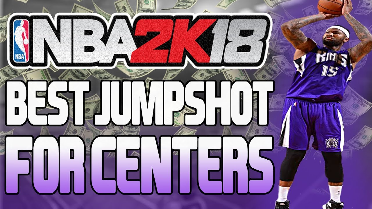 BEST JUMPSHOT FOR CENTERS!!! ATHLETIC FINISHER SHOOTING GREENS NBA 2K18