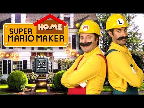 Super Mario Home Makeover!
