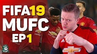 FIFA 19 Manchester United Goldbridge Career Mode EP 1