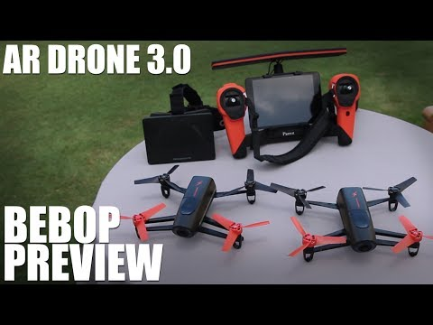 Parrot Bebop Drone - Preview