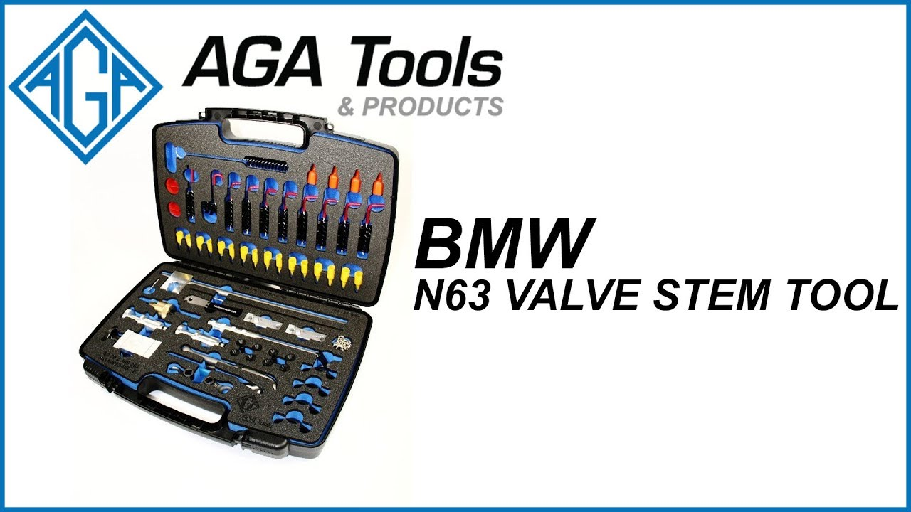 AGA BMW N63 Valve Seal Tool