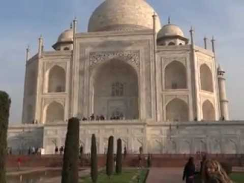 History of TAJ MEHAL, Agra, India. Latest Video on Feb2012