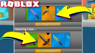 UNBOXING NEW EXOTICS BACK TO BACK!! *LUCKY* (Roblox Assassin)
