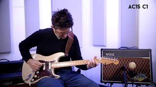 vox ac15c1x custom guitar combo amplifier performance vox ac15c1x