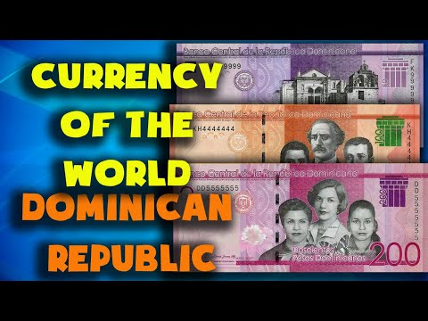 Currency Of The World - Dominican Republic. Dominican Peso. Exchange Rates Dominican Republic