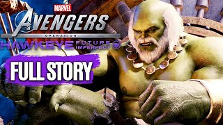 Marvel's Avengers Hawkeye Future Imperfect All Cutscenes (Game Movie) 1080p 60FPS
