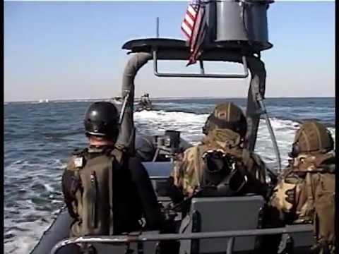 The U.S. Navy Special Boat Teams