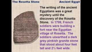 The Rosetta Stone - a reading lesson for kids