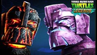 Черепашки Ниндзя Легенды МОЩЬ ПЛАТИНОВОЕ Испытания игра на андроид TMNT Legends UPDATE X